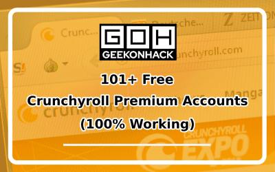 101 Free Crunchyroll Premium Accounts 2020 [Working]
