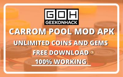 Carrom Pool MOD APK Free Download (100% Working)