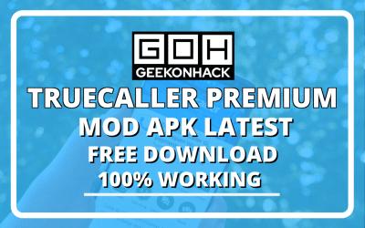 Truecaller Premium APK MOD Free Download (100% Working)